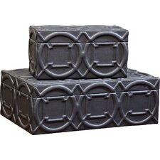 Arabesque Trapunto Box
