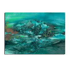 'Smash X' by Ready2HangArt™ Framed Painting Print on Wrapped Canvas