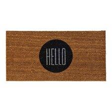 """Altona """"Hello"""" Doormat"""
