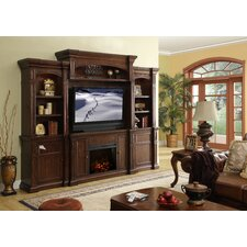 "Berkshire 30"" TV Stand with Electric Fireplace"