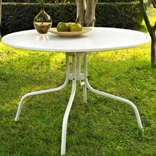 Timothea Metal Dining Table In