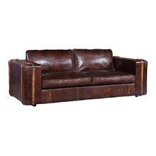 3-Sitzer Einzelsofa Suitcase aus Leder