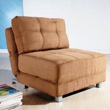 Krystal Microfiber Convertible Chair