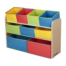 Deluxe Toy Organizer with Bins