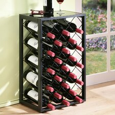 23 Bottle Floor Wine Rack