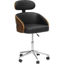 Baxton Studio Kneppe Desk Chair