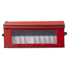 36 Piece Holiday Ornament Chest