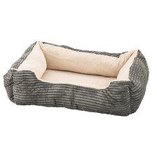 Corduroy Orthopedic Cuddler Dog Bed