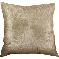 Shimmering Starburst Cotton Throw Pillow