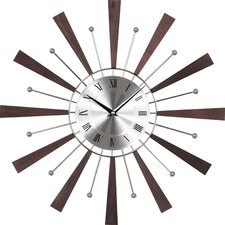 """19.25"""" Spindle Wall Clock"""
