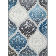 Horizons Gray/Blue Area Rug