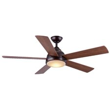 """52"""" Neopolis 5-Blade Ceiling Fan with Remote"""