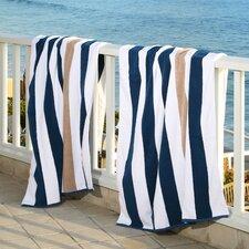 Plush Cabana Beach Towel (Set of 2)