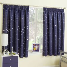 Enhanced Living Moonlight Blackout Single Curtain Panel (Set of 2)