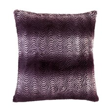 Orchid Ombre Fur Thow Pillow