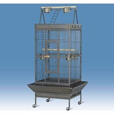 Pawhut Parrot Aviary Coop Wire Mesh Bird Breeding Cage
