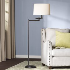 "Hamill 60"" Swing Arm Floor Lamp"