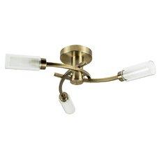 Claudia 3 Light Semi-Flush Ceiling Light