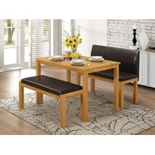 Hamra Dining Set with 2 Benches
