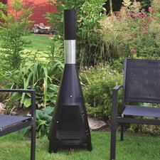 Steel Wood Chiminea