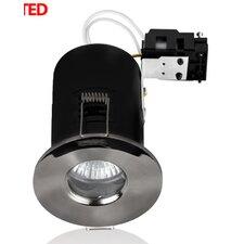 Domed Bezel 8.6cm Recessed Retrofit Downlight Recessed Kit (Set of 4)