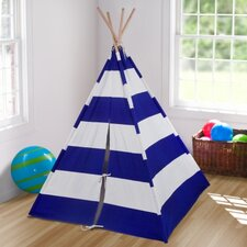 Striped Canvas Play Teepee