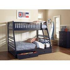 Rafael Twin over Full Bunk Bed with Storage