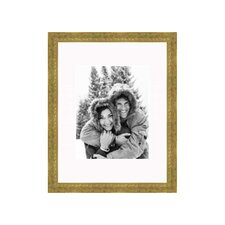 8 x 10 thin frame in soft gold