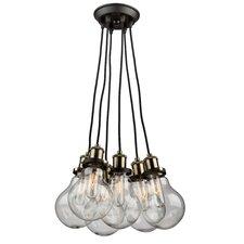 Edison 5-Light Cluster Pendant