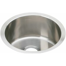 """The Mystic® 16.38"""" x 16.38"""" Stainless Steel Single Bowl Undermount Bar Sink"""