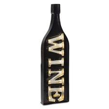 Lone Elm Studio Wine Bottle LED Marquee Sign