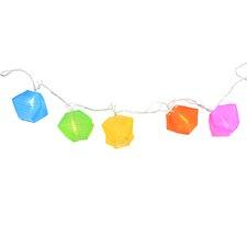 10-Light Colorful Light String