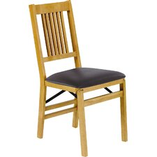 True Mission Wood Folding Chair (Set of 2)