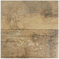"""Pacific 11.88"""" X 11.88"""" Porcelain Wood Tile in Brown"""