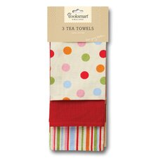 Spots 3-Piece Tea Towel Set