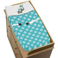 Mod Elephant Changing Pad Cover