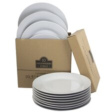 """10.5"""" Catering Packs Round Dinner Plate (Set of 12)"""