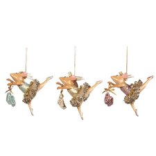 Assorted Bettina Mouse Hanging Figurines (Set of 6)