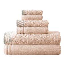 6 Piece Towel Set