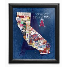 'California State of Mind' Framed Wall Art