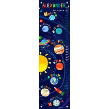 Solar System - Personalized Canvas Growth Chart