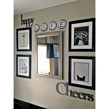Hand Painted Typewriter Key Letter Wall Decor