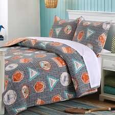 Camp Out Reversible Quilt Set