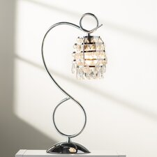 "Burt and Crystal Dangle 19.25"" Desk Lamp"