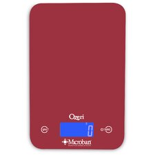 Touch II 18 lbs Digital Kitchen Scale, with Microban® Antimicrobial Product Protection