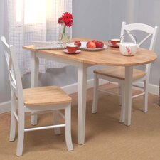 wisteria 3 piece dining set - Colorful Dining Room Tables