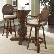 Bay Point 3 Piece Pub Table Set