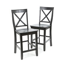 "Boonville 24"" Bar Stool (Set of 2)"