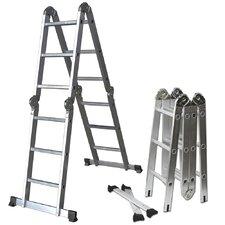 12.5 ft Aluminum Multi-Position Ladder