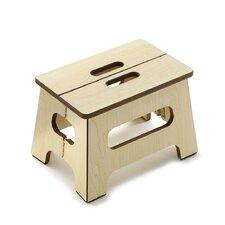 1-Step Manufactured Wood Step Stool